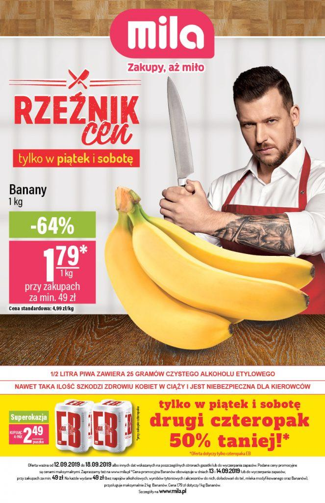 Gazetka promocyjna Mila do 18/09/2019 str.1