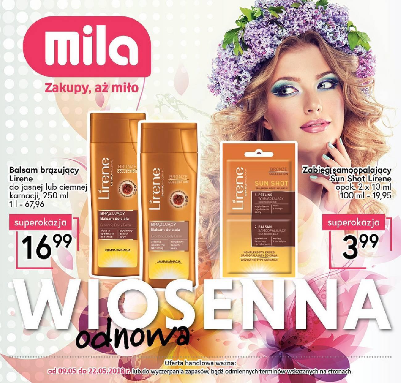 Gazetka promocyjna Mila do 15/05/2018 str.23