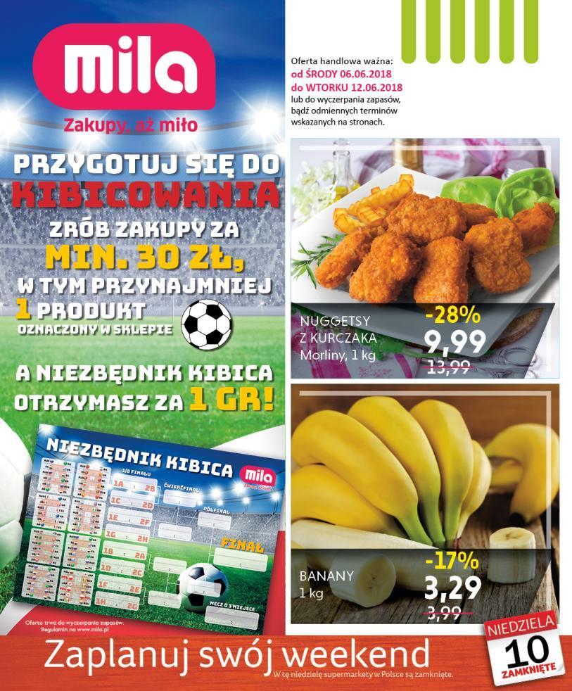 Gazetka promocyjna Mila do 12/06/2018 str.0