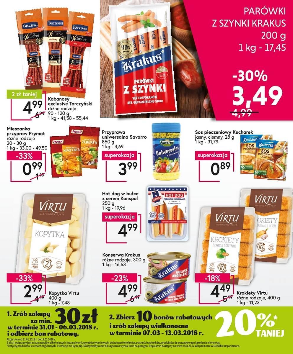 Gazetka promocyjna Mila do 06/02/2018 str.8
