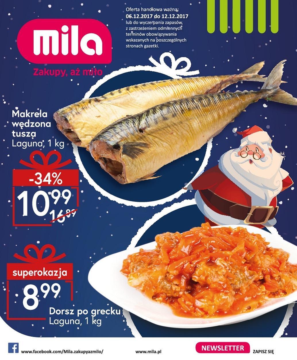 Gazetka promocyjna Mila do 12/12/2017 str.0