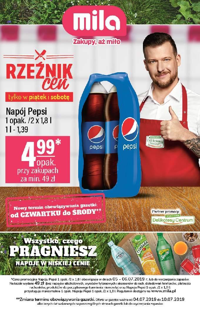 Gazetka promocyjna Mila do 10/07/2019 str.0