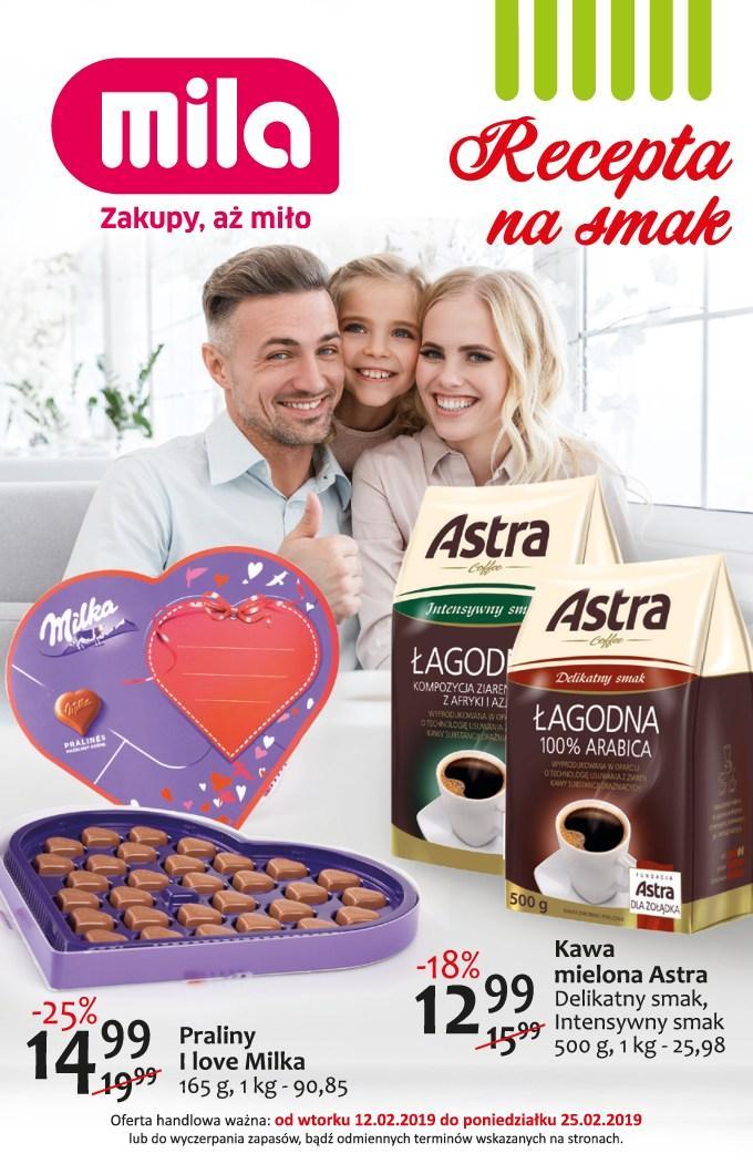 Gazetka promocyjna Mila do 25/02/2019 str.0