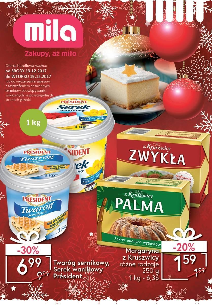 Gazetka promocyjna Mila do 19/12/2017 str.0