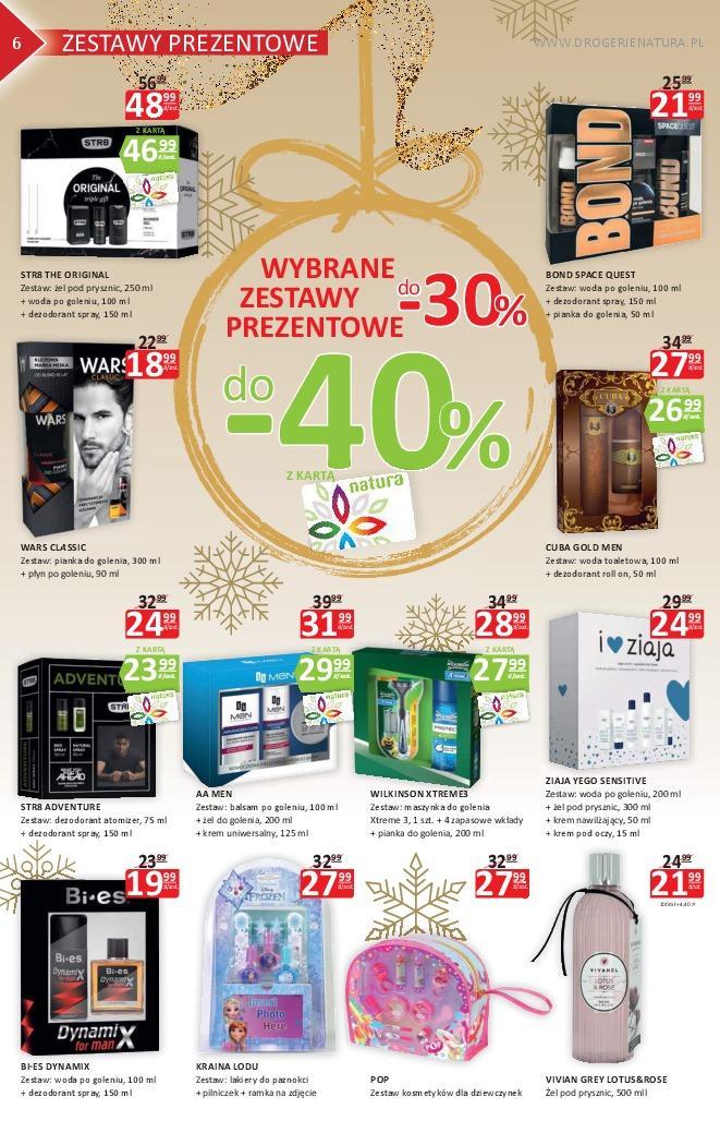 Gazetka promocyjna Drogerie Natura do 21/11/2018 str.6