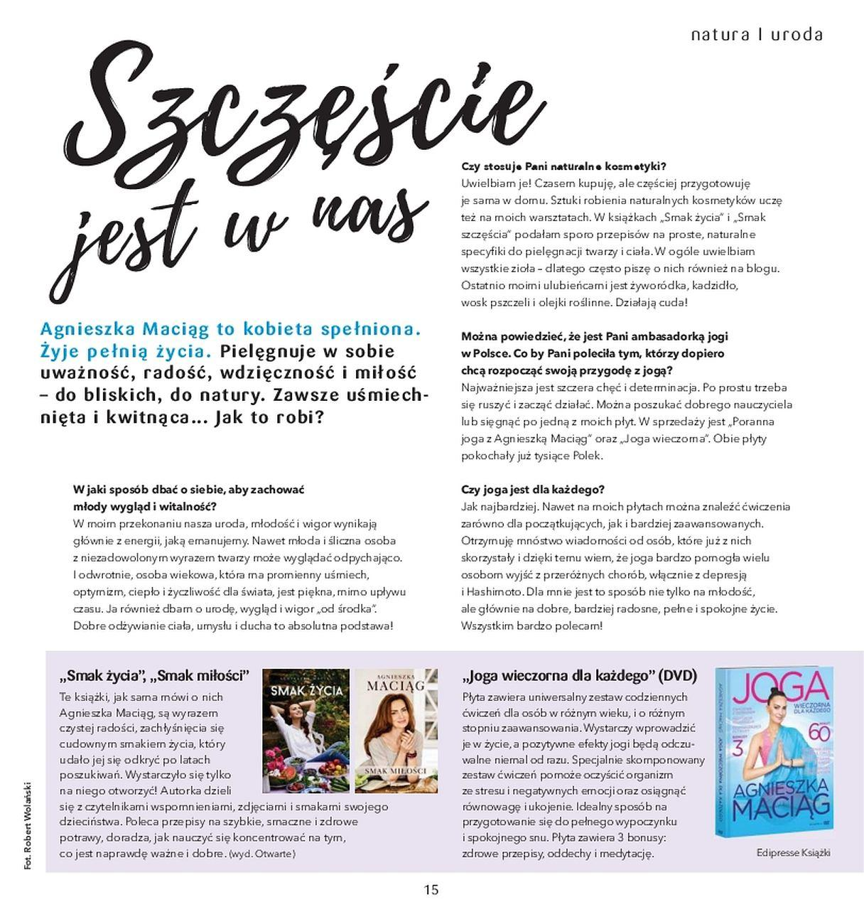 Gazetka promocyjna Drogerie Natura do 31/05/2018 str.14