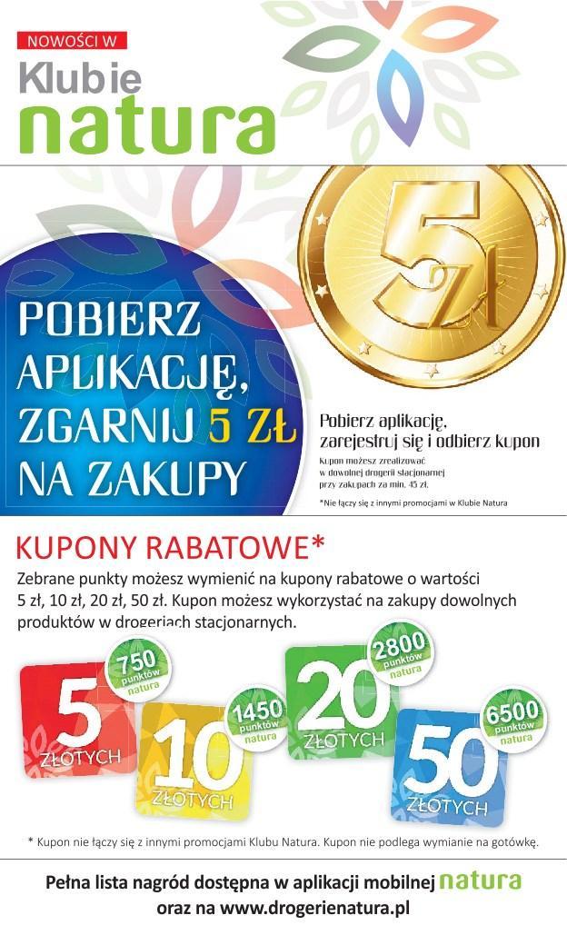 Gazetka promocyjna Drogerie Natura do 24/04/2019 str.2