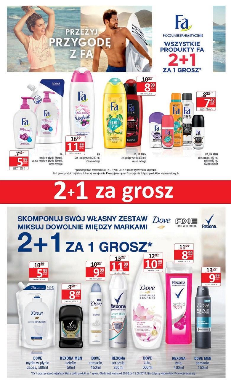 Gazetka promocyjna Drogerie Natura do 12/09/2018 str.1