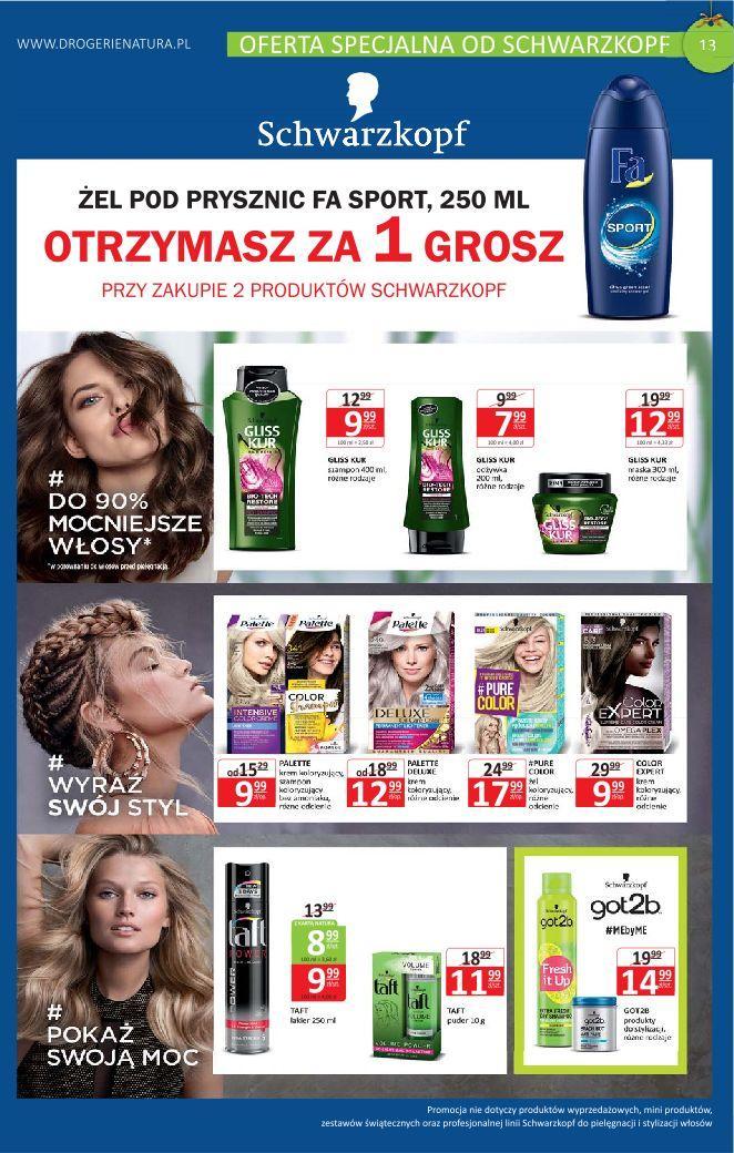 Gazetka promocyjna Drogerie Natura do 11/12/2019 str.12