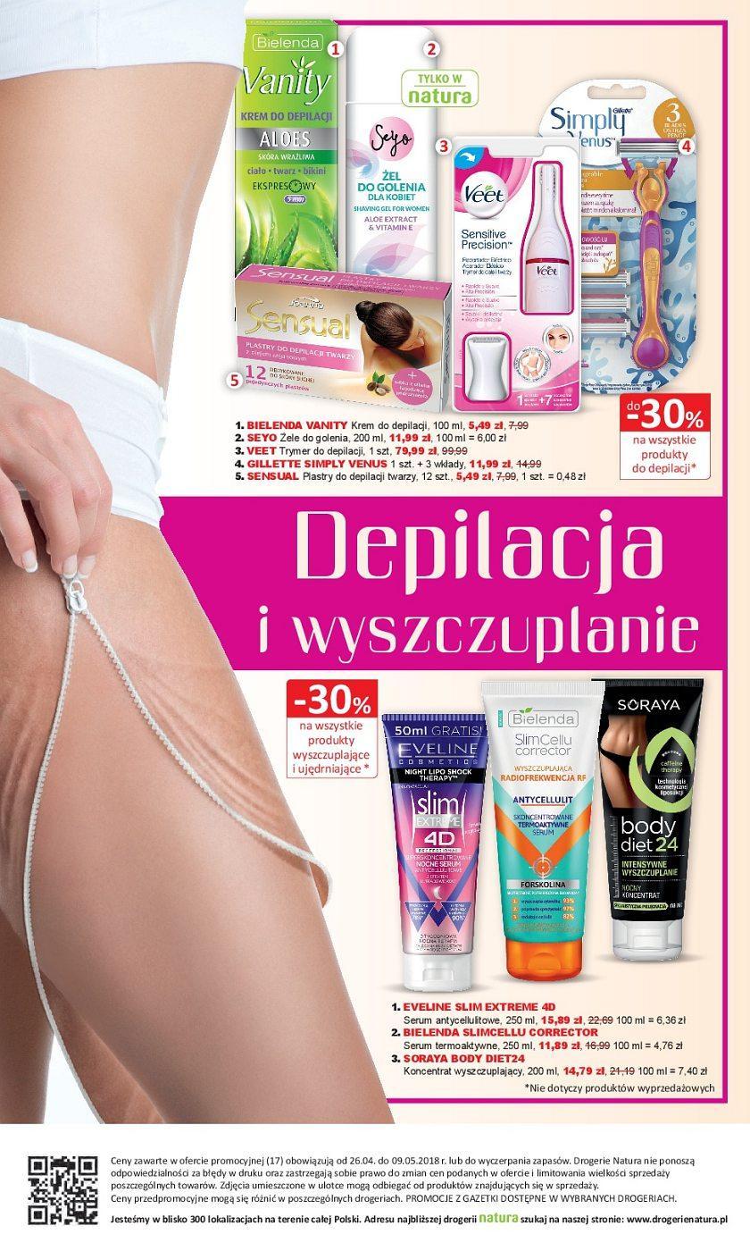 Gazetka promocyjna Drogerie Natura do 09/05/2018 str.15