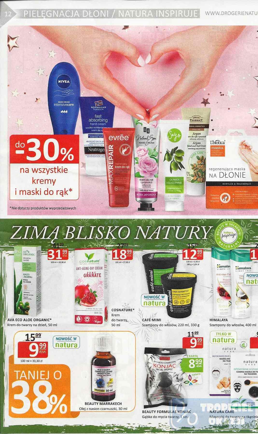 Gazetka promocyjna Drogerie Natura do 30/01/2019 str.11