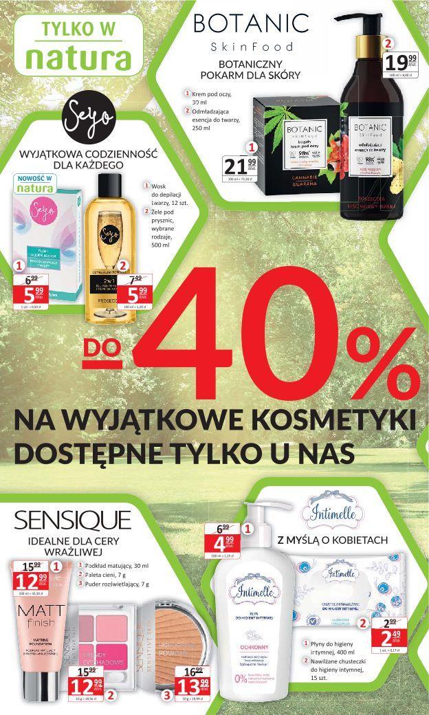 Gazetka promocyjna Drogerie Natura do 14/08/2019 str.1