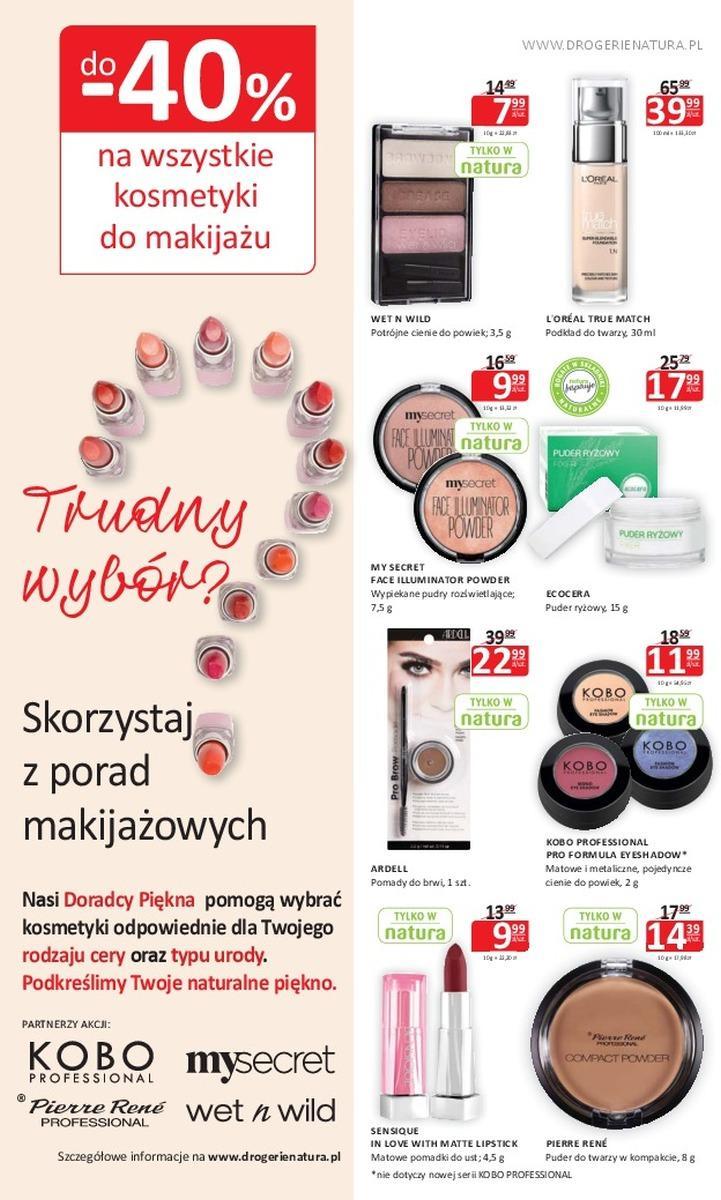 Gazetka promocyjna Drogerie Natura do 04/07/2018 str.1