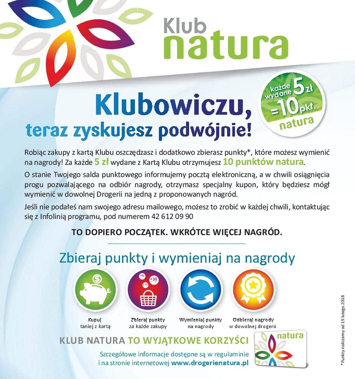 Gazetka promocyjna Drogerie Natura do 31/05/2018 str.4