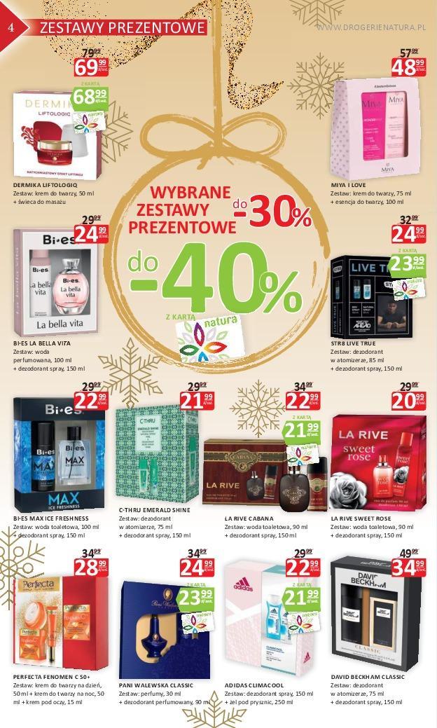 Gazetka promocyjna Drogerie Natura do 21/11/2018 str.4