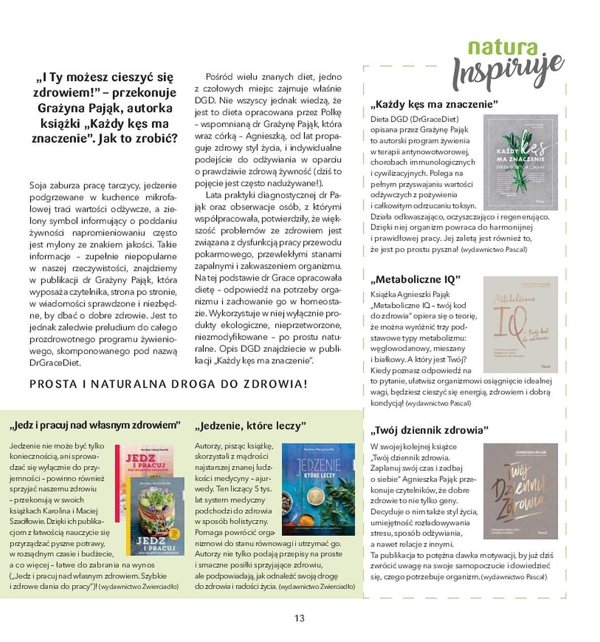 Gazetka promocyjna Drogerie Natura do 31/05/2018 str.12