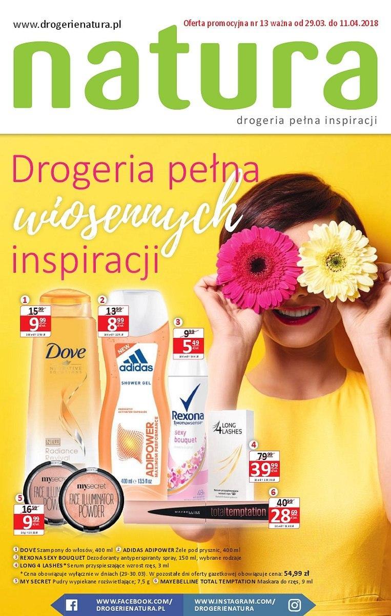 Gazetka promocyjna Drogerie Natura do 11/04/2018 str.2