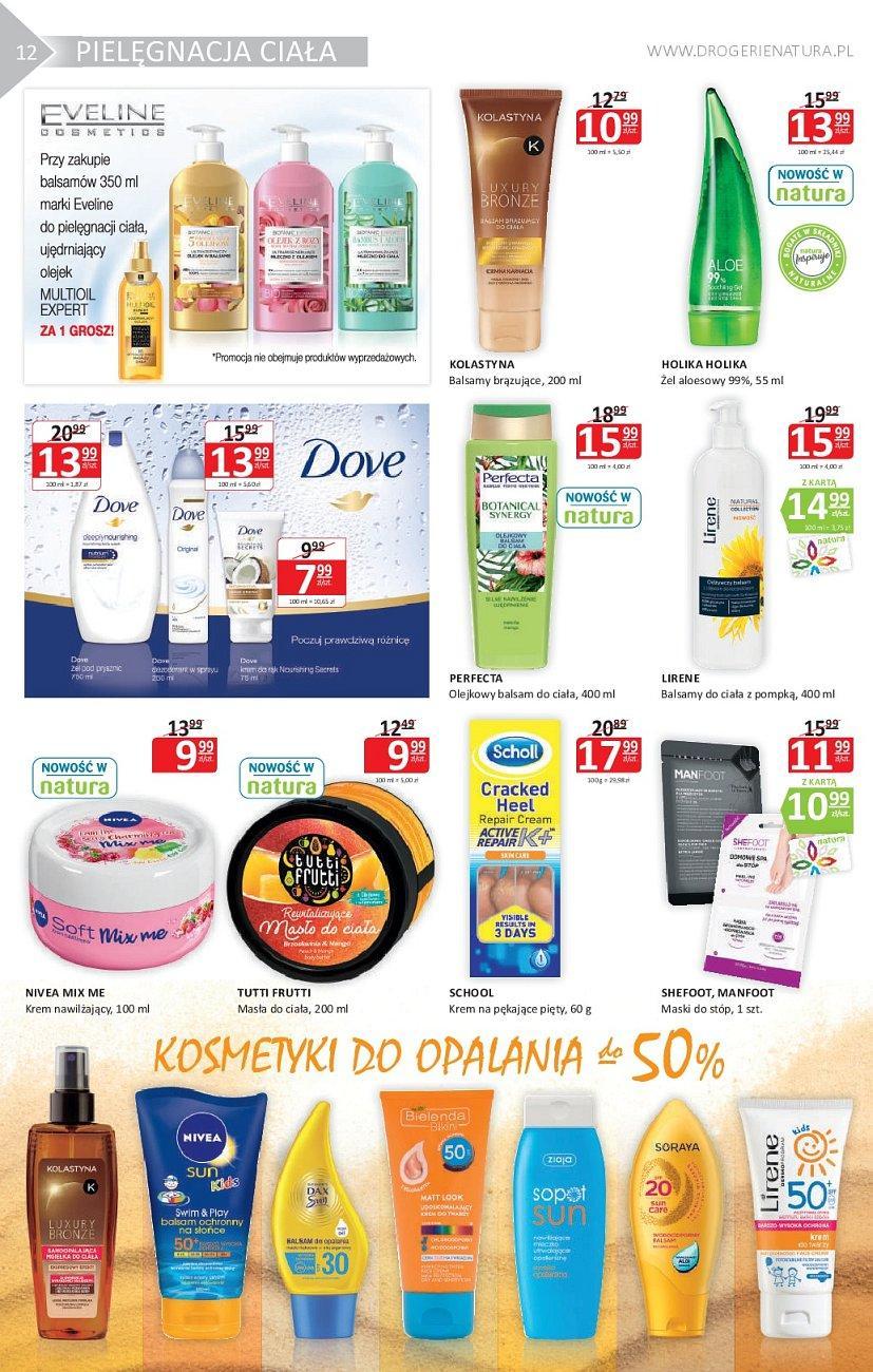 Gazetka promocyjna Drogerie Natura do 29/08/2018 str.12