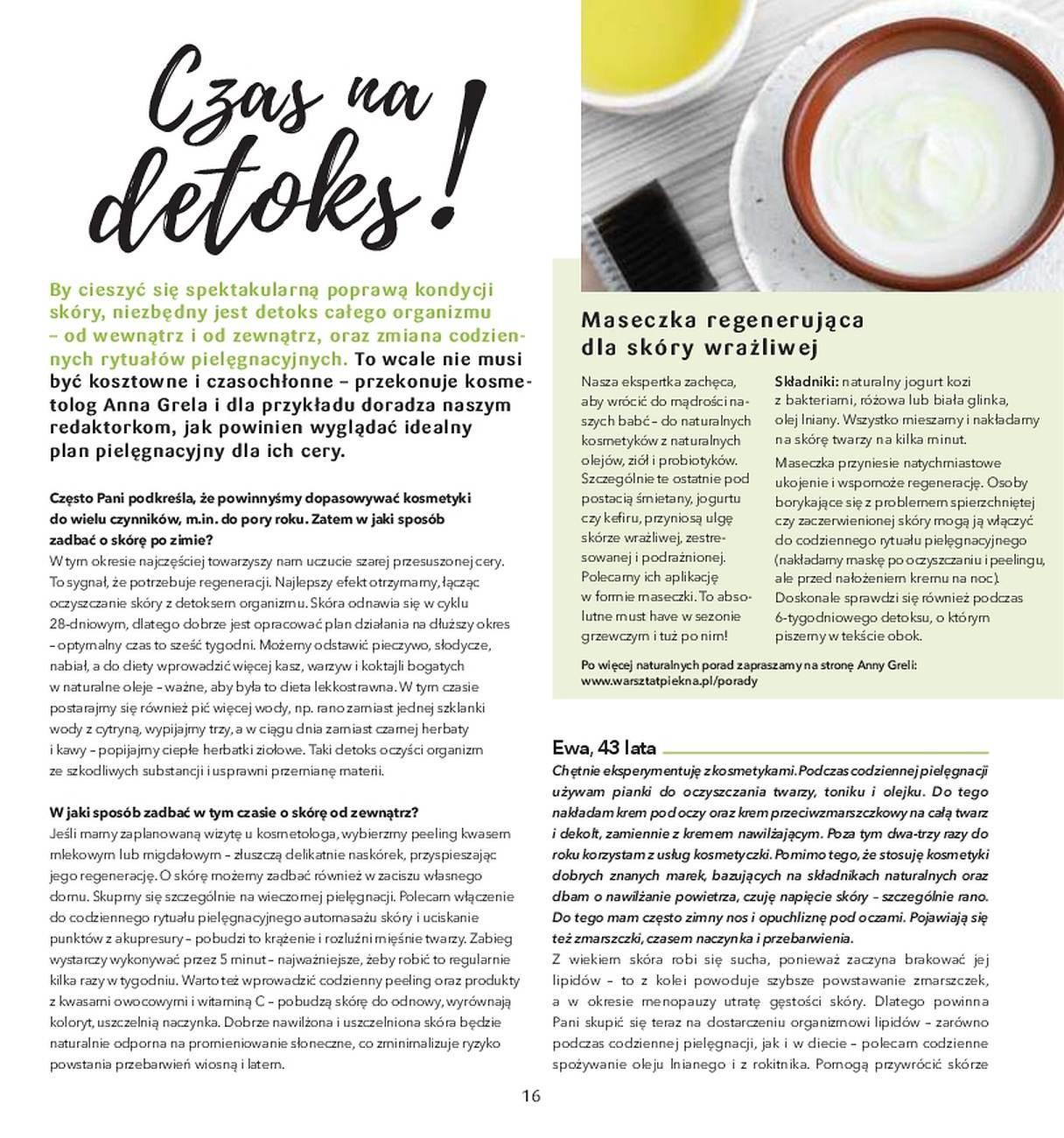 Gazetka promocyjna Drogerie Natura do 31/05/2018 str.15