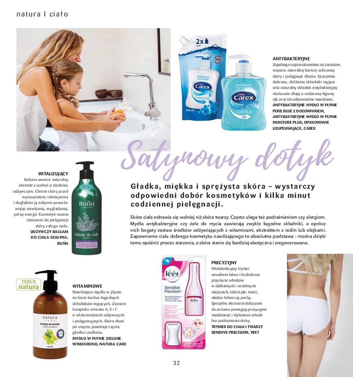 Gazetka promocyjna Drogerie Natura do 31/05/2018 str.31
