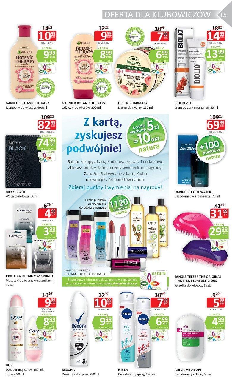 Gazetka promocyjna Drogerie Natura do 20/06/2018 str.14