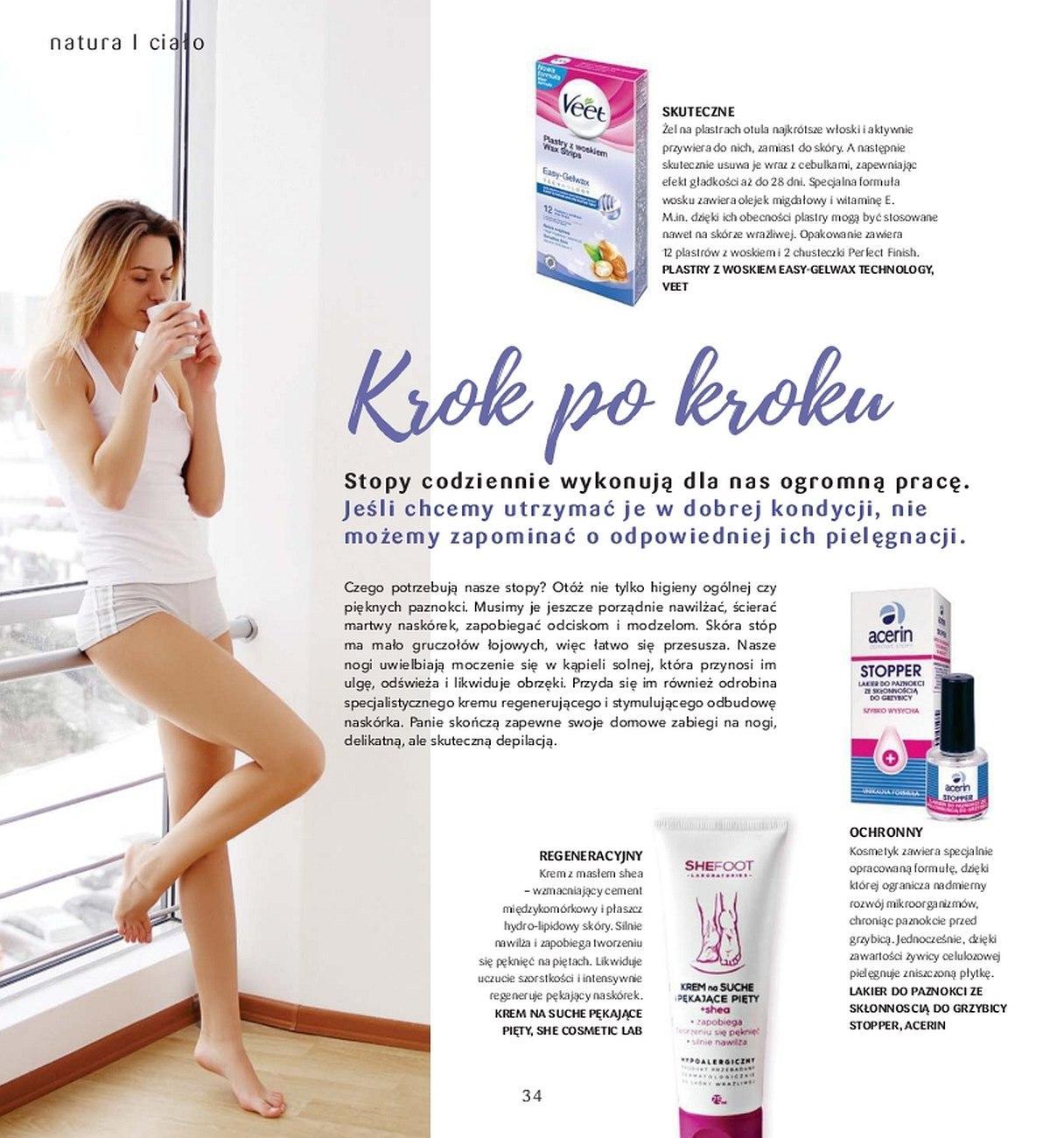 Gazetka promocyjna Drogerie Natura do 31/05/2018 str.33