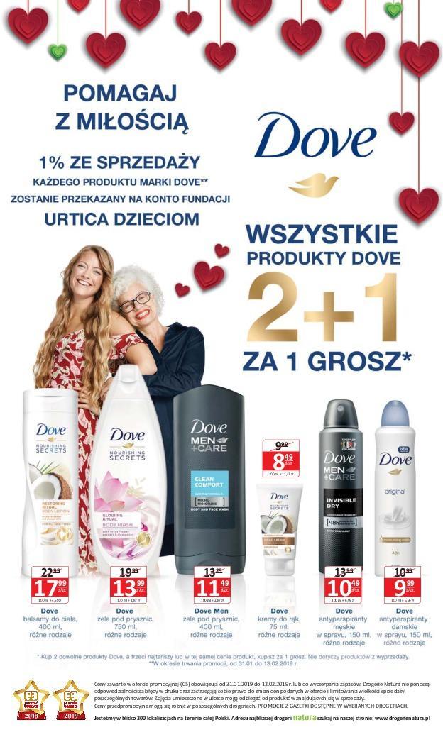 Gazetka promocyjna Drogerie Natura do 13/02/2019 str.15