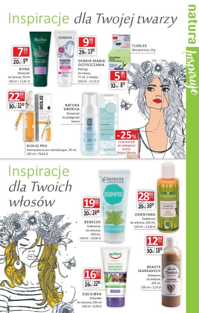 Gazetka promocyjna Drogerie Natura do 24/10/2018 str.4
