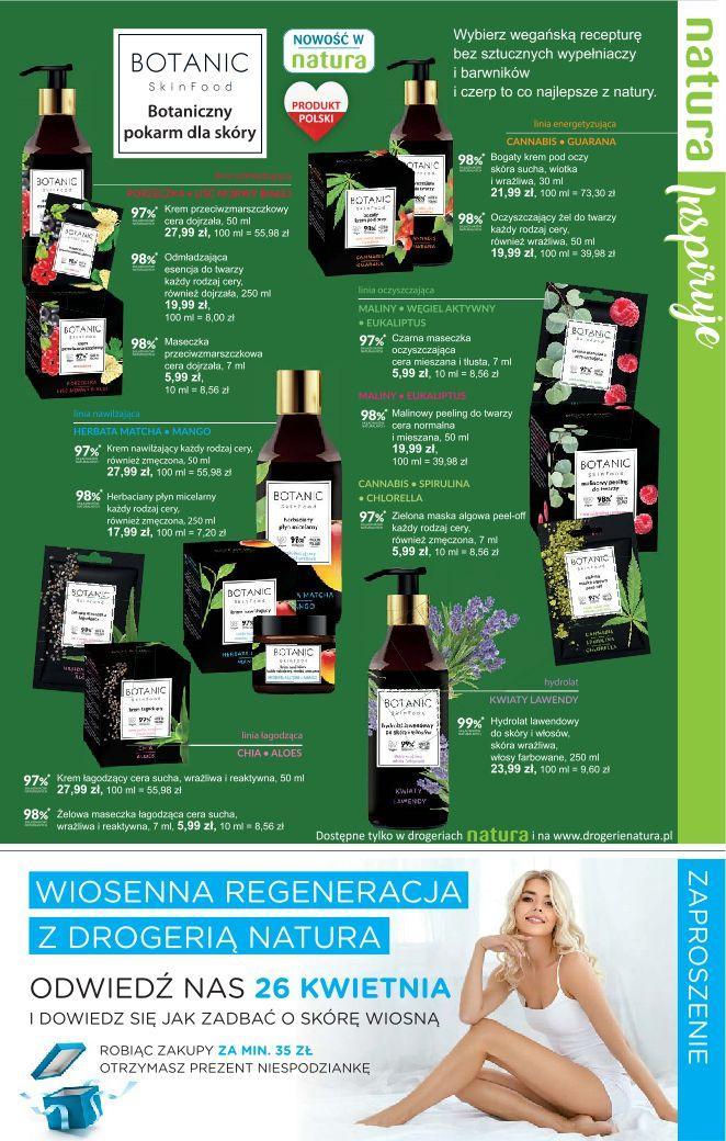 Gazetka promocyjna Drogerie Natura do 08/05/2019 str.4