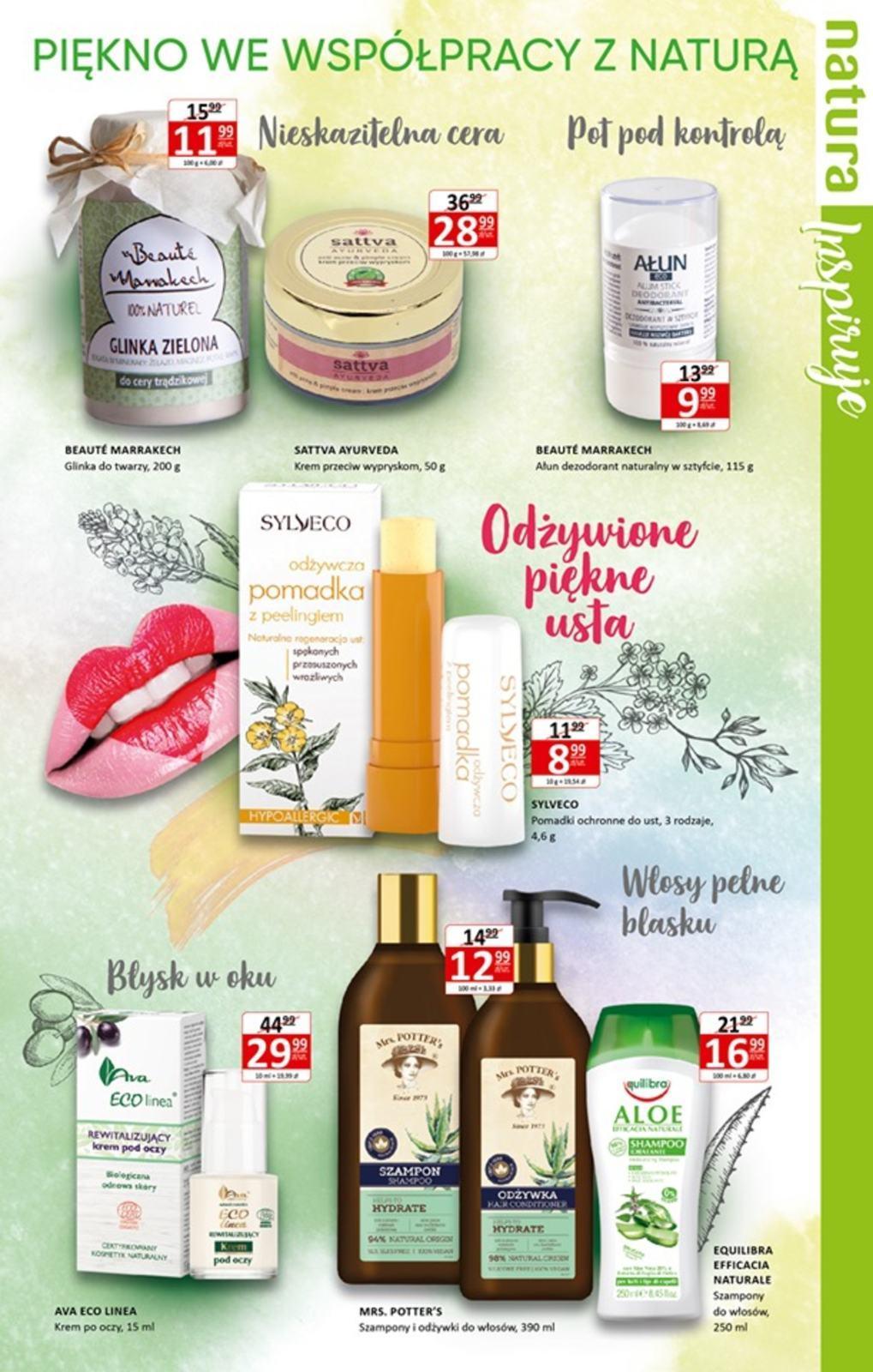 Gazetka promocyjna Drogerie Natura do 09/10/2019 str.4