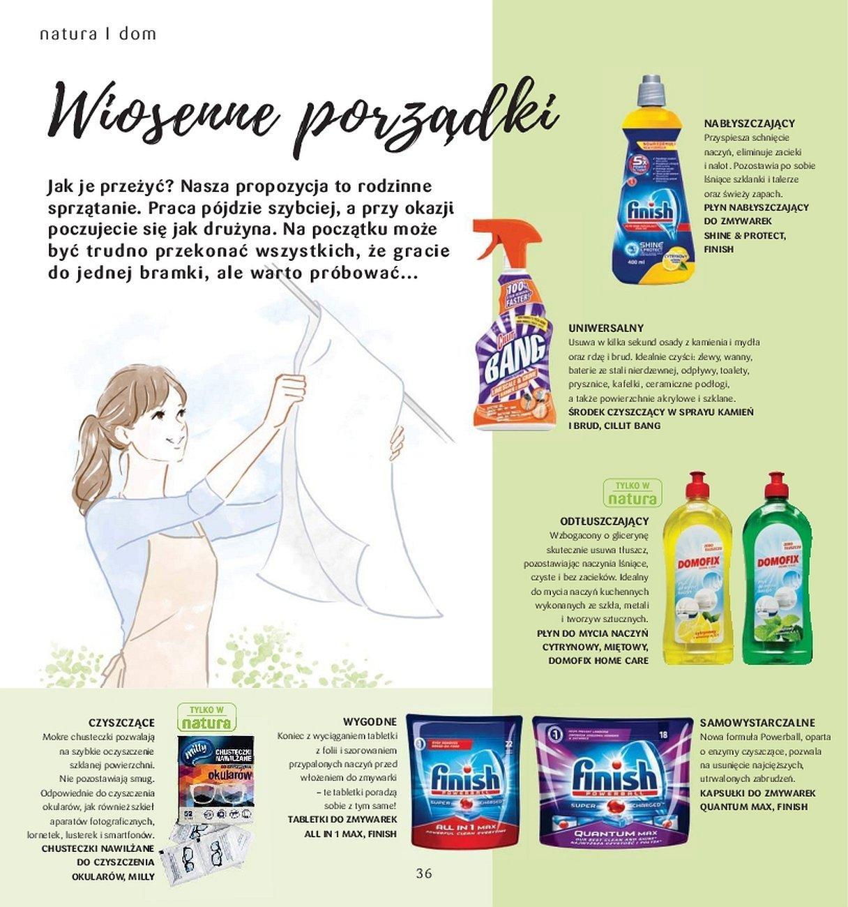 Gazetka promocyjna Drogerie Natura do 31/05/2018 str.35