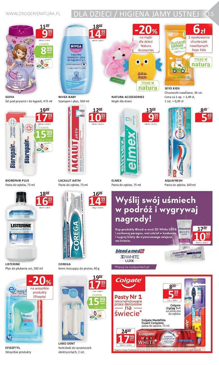 Gazetka promocyjna Drogerie Natura do 23/05/2018 str.14
