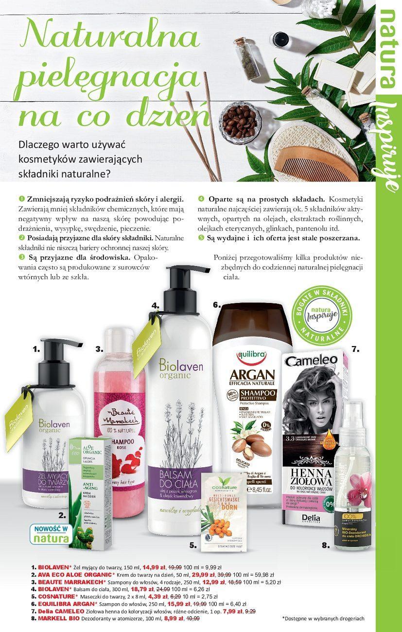 Gazetka promocyjna Drogerie Natura do 20/06/2018 str.4