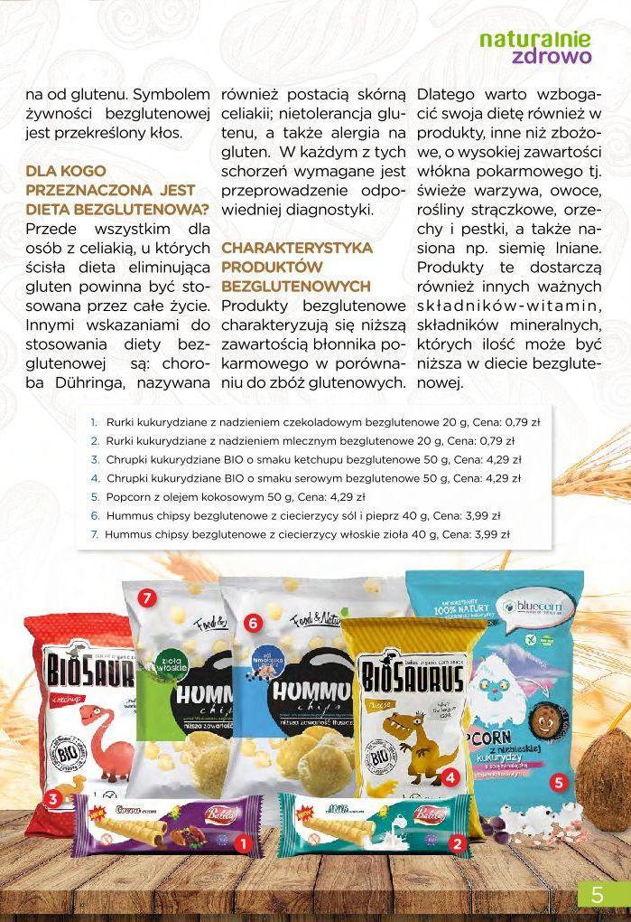 Gazetka promocyjna Drogerie Natura do 31/08/2019 str.5