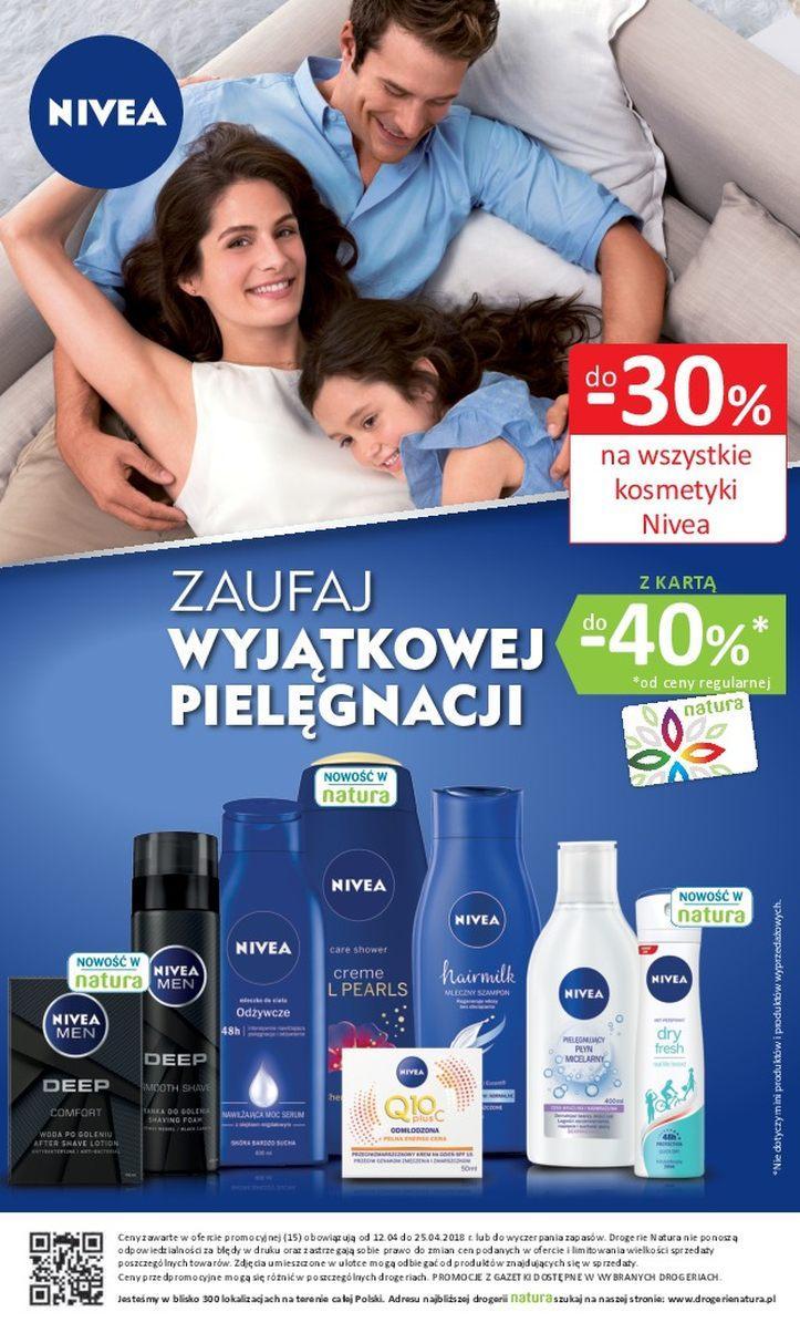 Gazetka promocyjna Drogerie Natura do 25/04/2018 str.15