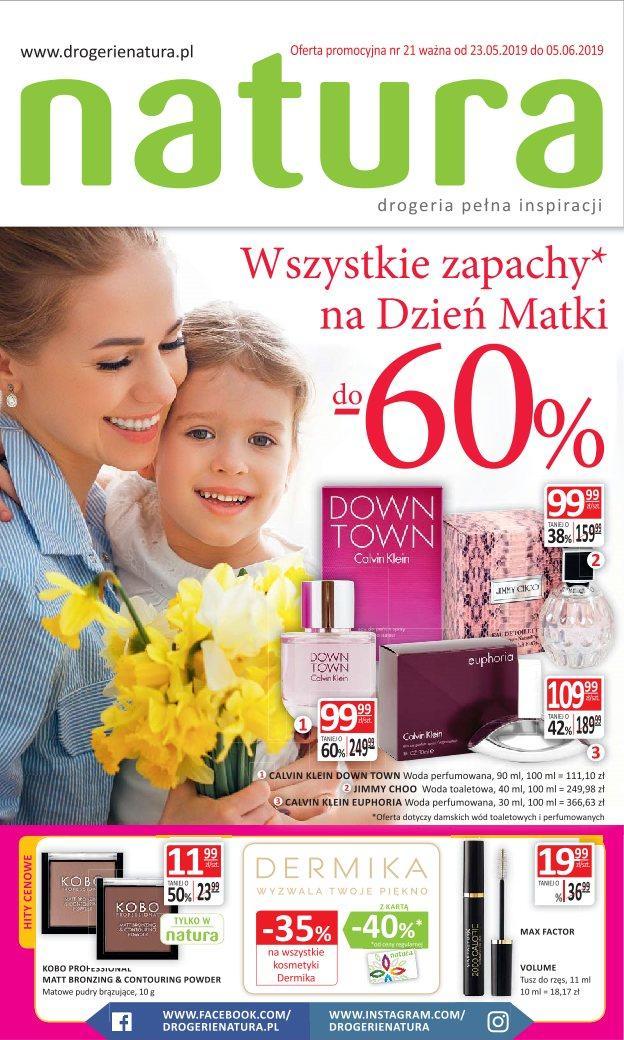 Gazetka promocyjna Drogerie Natura do 05/06/2019 str.1