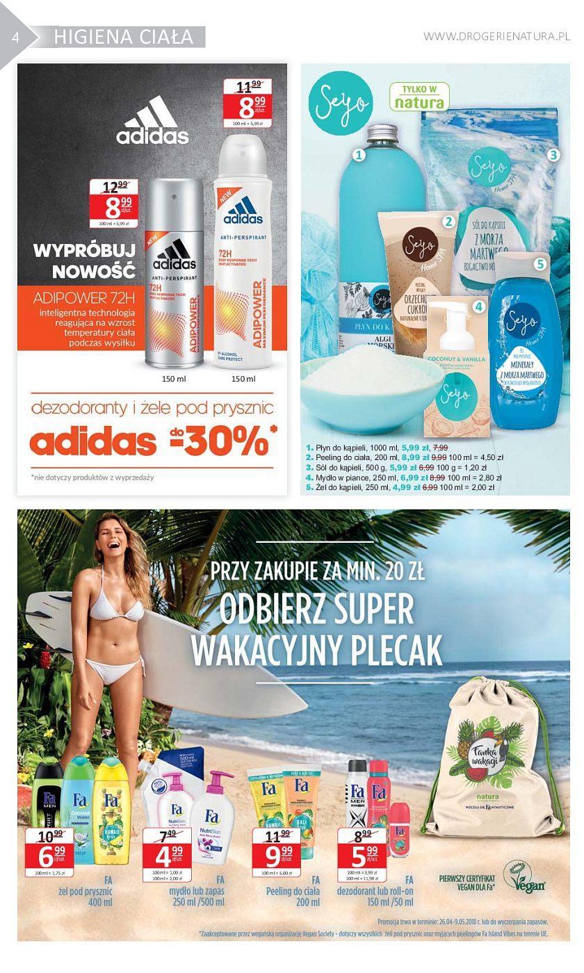 Gazetka promocyjna Drogerie Natura do 09/05/2018 str.3