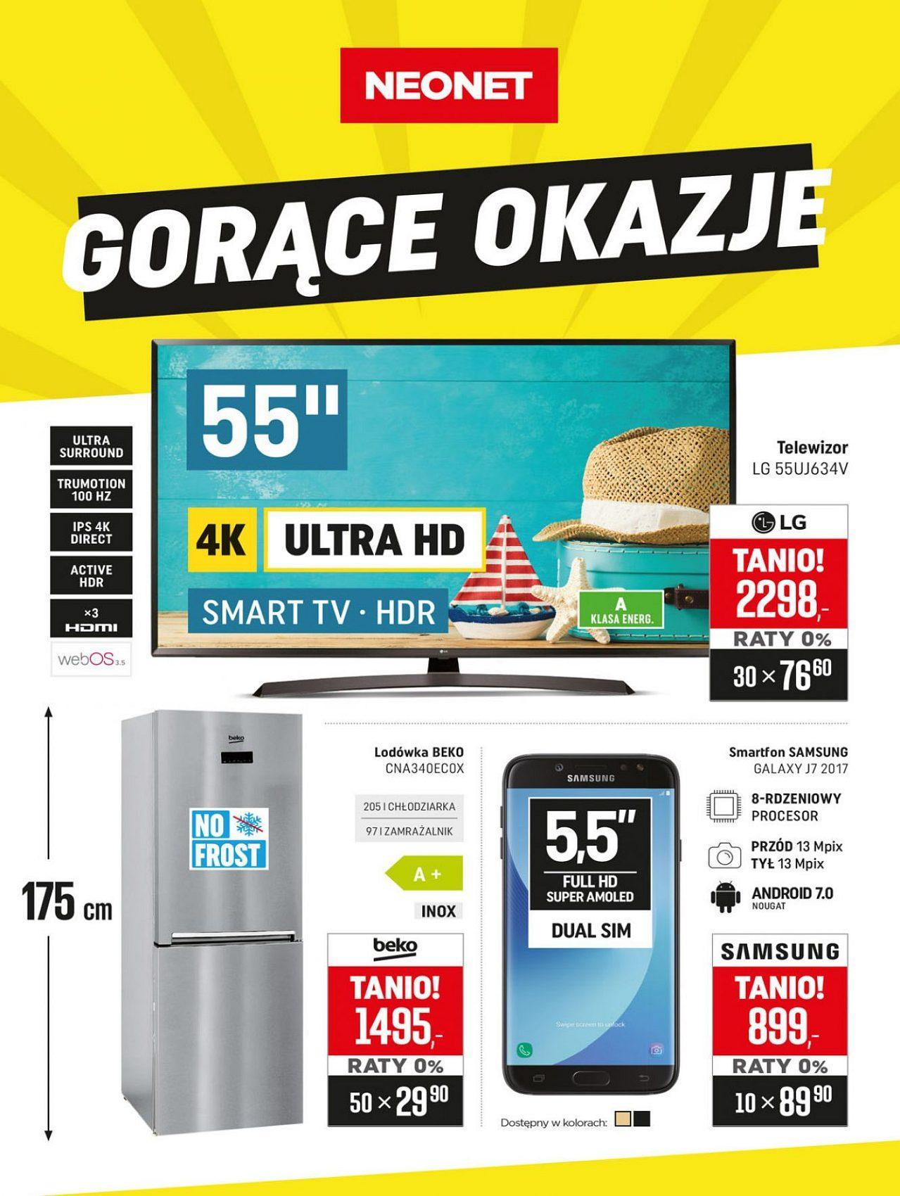 Gazetka promocyjna Neonet do 15/08/2018 str.0