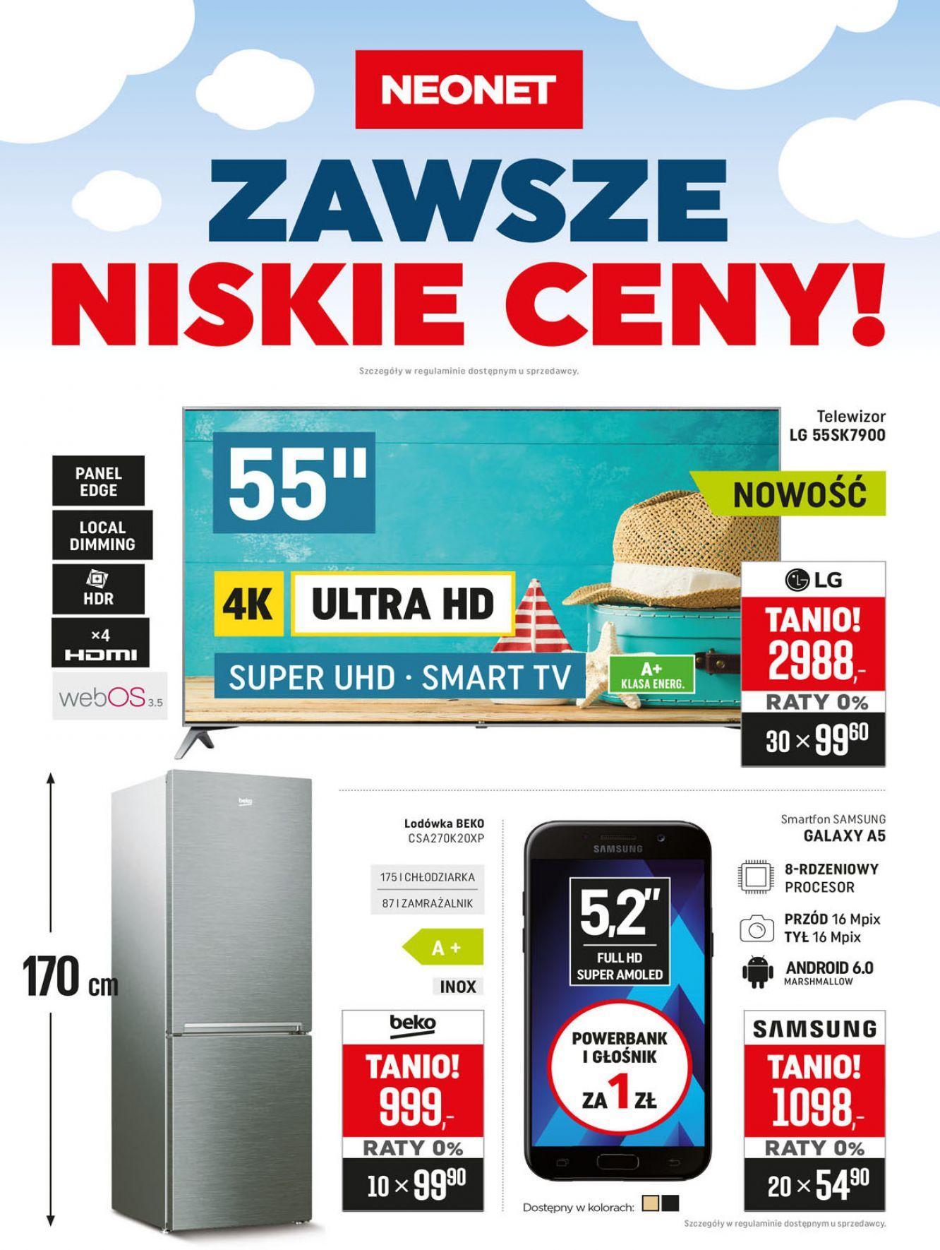 Gazetka promocyjna Neonet do 01/08/2018 str.0