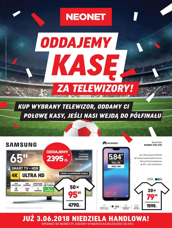 Gazetka promocyjna Neonet do 13/06/2018 str.0