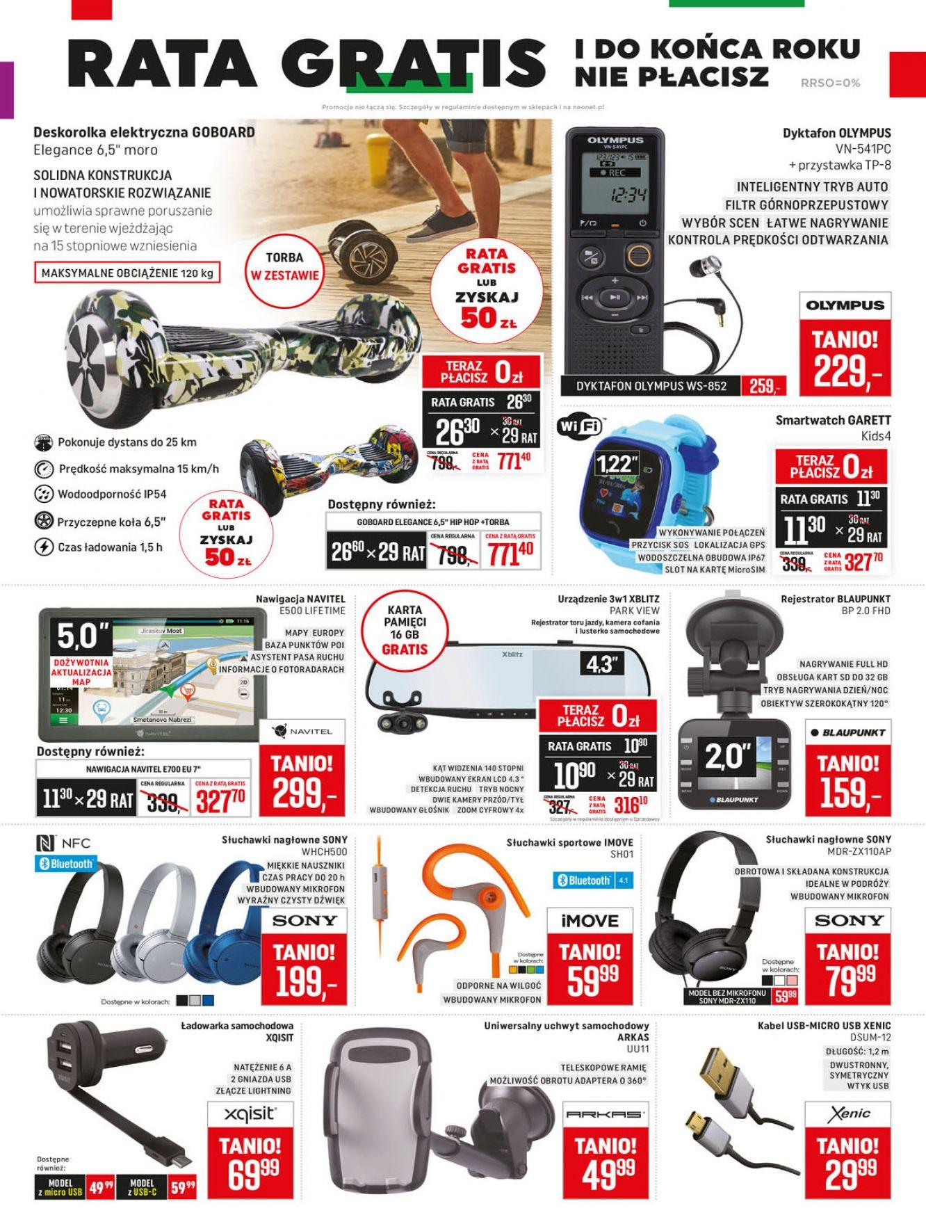 Gazetka promocyjna Neonet do 17/10/2018 str.6