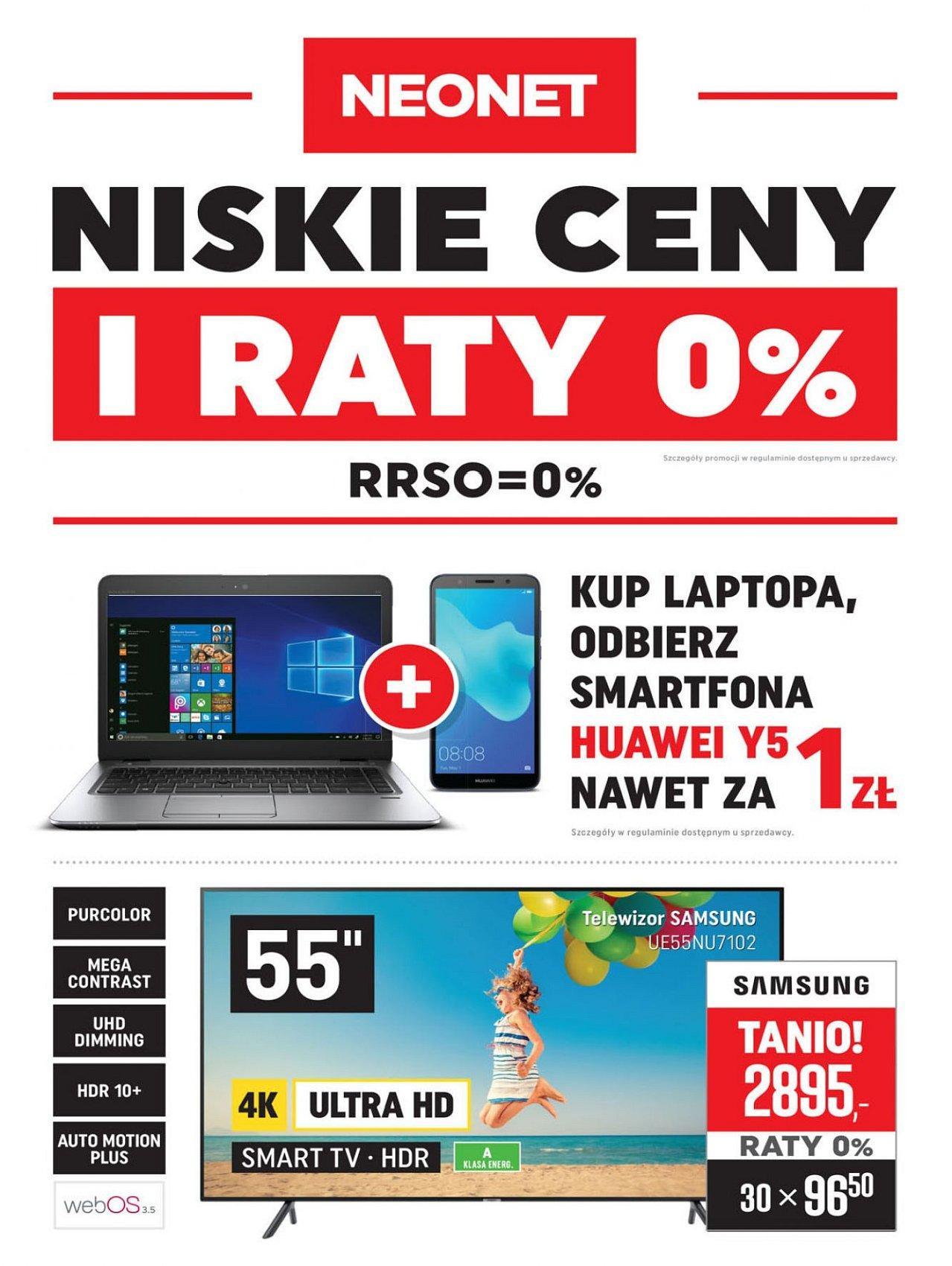 Gazetka promocyjna Neonet do 05/09/2018 str.0