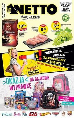 Netto gazetka - od 16/07/2018 do 21/07/2018