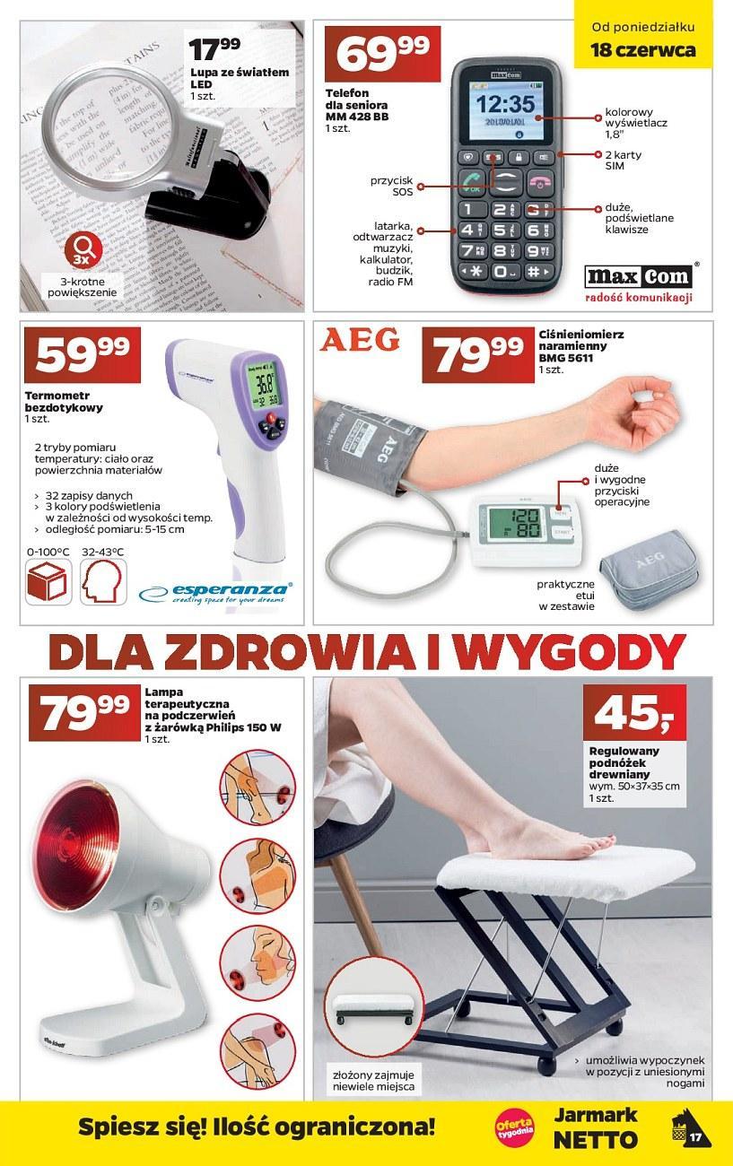 Gazetka promocyjna Netto do 24/06/2018 str.17