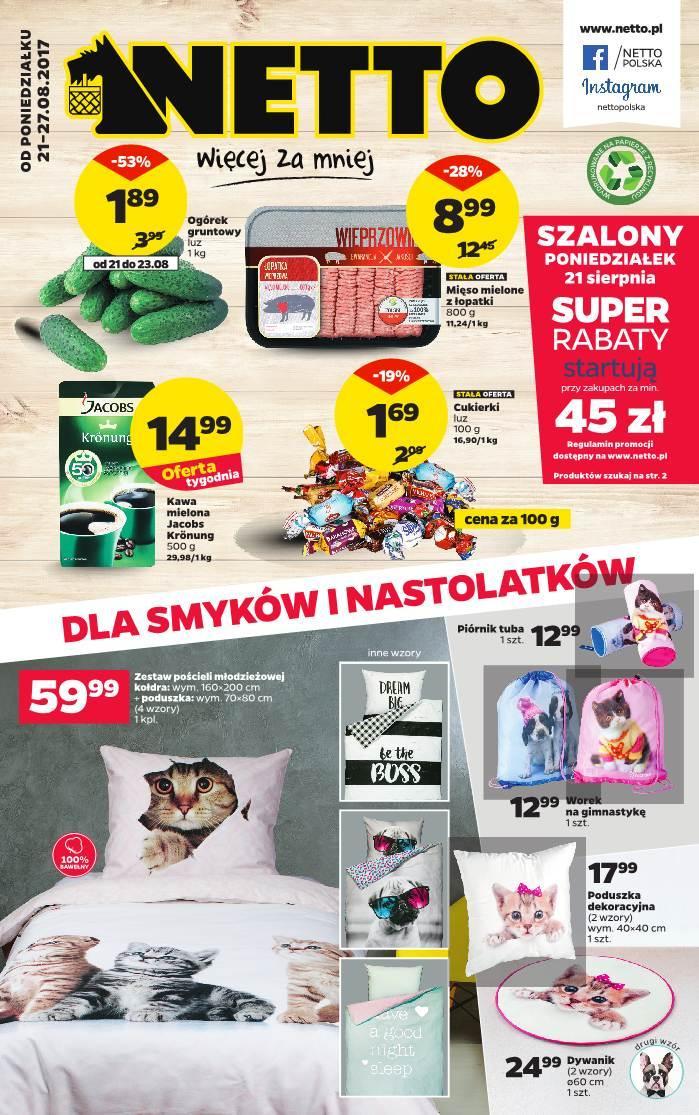 Gazetka promocyjna Netto do 27/08/2017 str.0