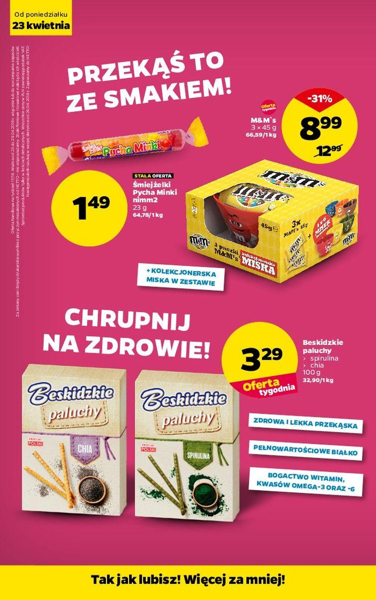 Gazetka promocyjna Netto do 29/04/2018 str.15
