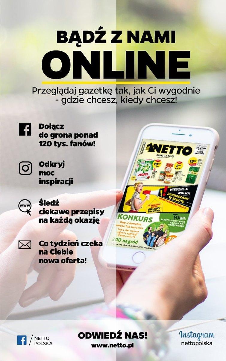 Gazetka promocyjna Netto do 21/04/2018 str.24