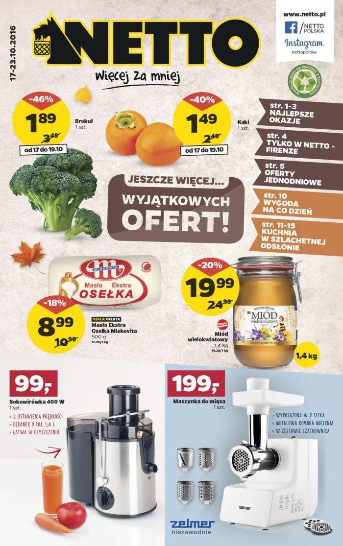 Gazetka promocyjna Netto do 23/10/2016 str.0