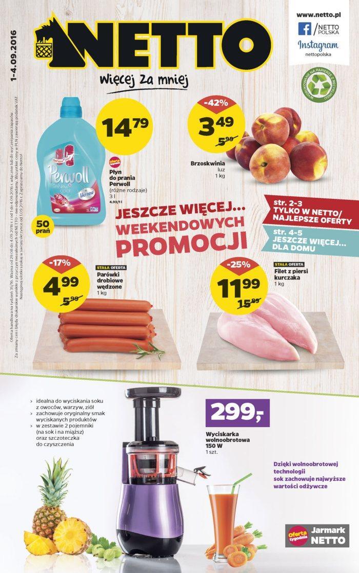 Gazetka promocyjna Netto do 04/09/2016 str.0