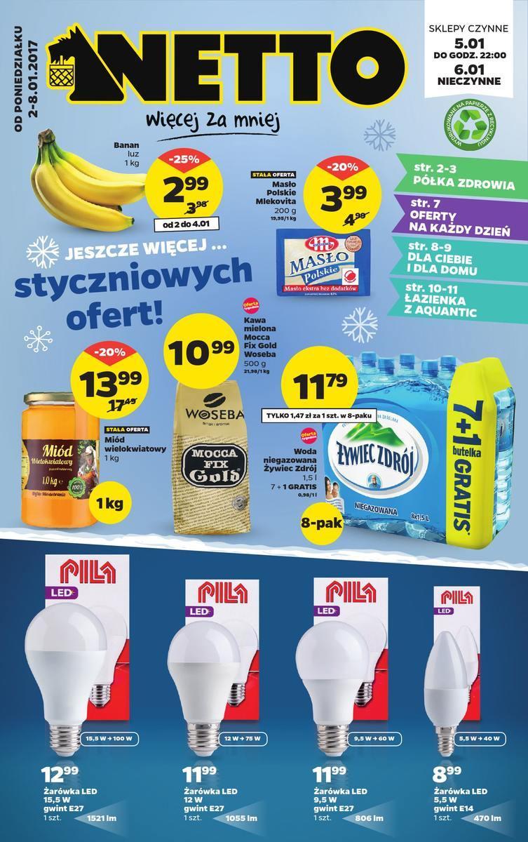 Gazetka promocyjna Netto do 08/01/2017 str.0